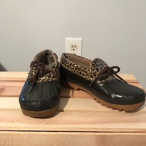 Sperry Top Sider Low Duck Boots